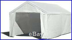 Canopy Garage Side Wall Kit 10x20 Car Shelter Big Tent Parking Carport Portable