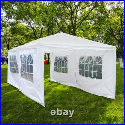 Canopy Portable Foldable Car Driveway Cover Adjustable Height Stake 10'x20'x8.8
