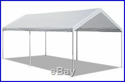 Caravan Canopy 10 X 20-Feet Domain Carport, White