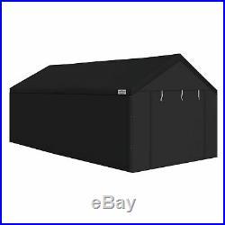 Caravan Canopy 10x20' Portable Shelter Steel Enclosure Side Wall Garage Car Port