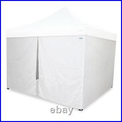 Caravan Canopy 12x12' Portable Shelter Steel Enclosure Side Wall Instant Garage