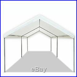 Caravan Canopy Sports 10' X 20' Domain Carport Garage, White