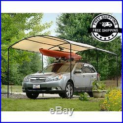Carport Canopy Car Shelter Metal Frame Carports Canopies Waterproof Shade 9x16