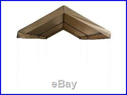 Carport Canopy Cover 10 x 20 Replacement Cover Tarp Ball Bungees