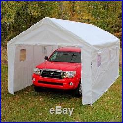 Carport Canopy Shelter Tent Car Auto Garage Truck Boat Gazebo Enclosure 10 x 20