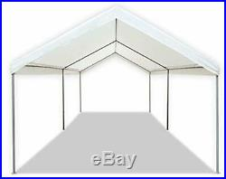 Carport Canopy Tent 10 X 20 Feet Domain White Portable Garage Tent Heavy Duty