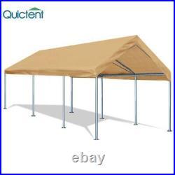 Carport Car Tent Shelter 10x20 Heavy Duty Steel Frame Garden Yard Garage Canopy