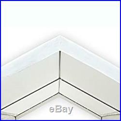 Carport Heavy Duty Canopy Tent Steel Caravan Car Shelter 10x20 Ft. 6-Leg, White