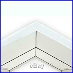 Carport Heavy Duty Canopy Tent Steel Caravan Car Shelter 10x20 Ft. 6-Leg White