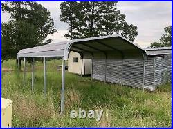 Carport Steel Roof Panels 10X18X20 (Disassembled/Ready For transport)