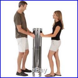 Coleman 10' x 10' Straight Leg Instant Canopy/Gazebo 100 W