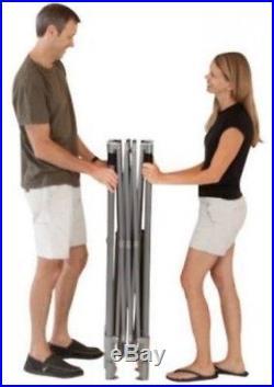 Coleman 10' x 10' Straight Leg Instant Canopy/Gazebo (100 sq. Ft Coverage)