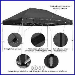 Commercial 10x15ft Pop Up Canopy Tent Instant Folding Shelter Trade Show Vendor