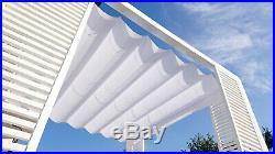 Custom-made Slide Canopy Retractable awning, sailshade, pergola sunscreen