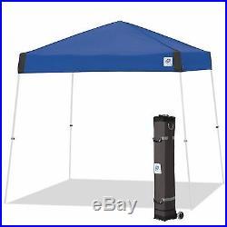 E-Z UP Vista Instant Shelter 10'x10' Canopy Royal Blue Pop Up