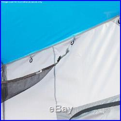 E-Z Up SC10SLGY 10-Foot x 10-Foot 6.4 Straight Leg Bug-Proof Screen Cube Gray