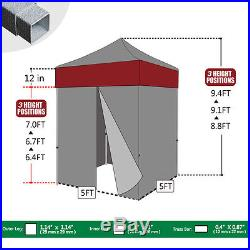 Eurmax Instant Canopy 5x5 EZ Pop Up Canopy Party Wedding Photo Booth Fair Tent