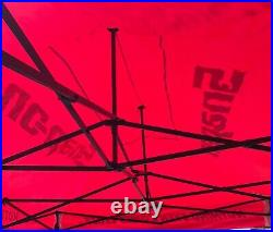 Extremely Hd Rare Official Snap-on Advertising Outdoor Ez-up Tent- 138 X 92