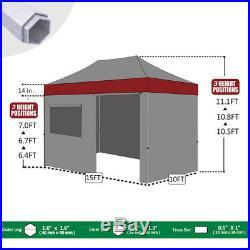 Ez Pop Up Canopy 10x15 Heavy Duty Outdoor Party Tent Trade Show Instant Gazebo