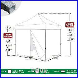 Ez Pop Up Commercial Pop Up Canopy 10x10 Outdoor Instant Party Tent With4 Walls