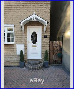 FRONT DOOR CANOPY. Crafted from UV-stabilised polymer for minimal maintenance