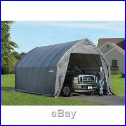 Garage-In-A-Box 13x20' x 12'Peak Style for SUV/Truck, Gray