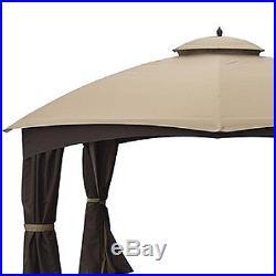 Garden Winds Canopy for Allen Roth 10x12 Gazebo Standard 350 Beige