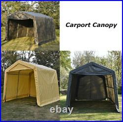 Grey / Yellow 10x10x8 / 10x15x8 Canopy Carport Portable Garage Storage Two size