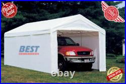 Heavy Duty 10'x20' Outdoor Canopy Shelter Popup Shed Garage Carport Storage Tent