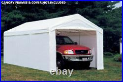 Heavy Duty 10x20' Outdoor Canopy Shelter Popup Shed Garage Carport Enclosure Kit