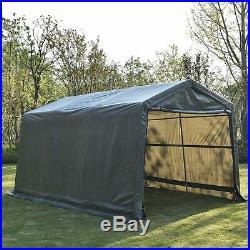 Heavy Duty Outdoor Garage Carport Canopy Tent Portable 10x15 Shelter Storage