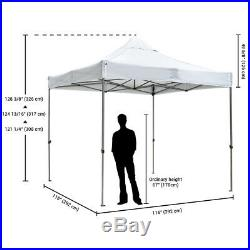 InstaHibit 10x10 FT Pop up Canopy Folding Tent Portable Bag Outdoor Party Yard