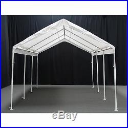 King Canopy Hercules 10 x 20 ft. 8-Leg White Canopy, 10 x 20
