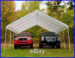 Large Outdoor Carport 18'x27' Car Vehicle Canopy Rain Sun Cookout Tent Shelter
