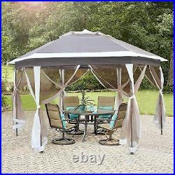 Livebest Gazebo Pop Up Canopy Tent Mosquito Net Patio Outdoor Shelter Garden