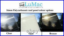 Made To Measure Custom Size Patio Garden Canopy Carport Shelter Bespoke Awning