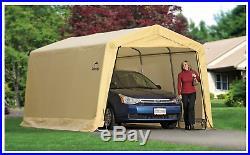 Metal Carport Frame Steel Car Large Garage Tent Shelter Portable Auto Snow Rain