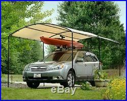 Metal Carports Carport Canopy Kits Garage Steel Frame Car 9 x 16 Boat Tent Cover