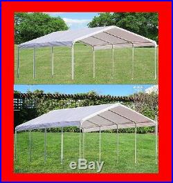 Multi-Use PE Carport Party Wedding Tent Shelter Canopy Two Sizes Available