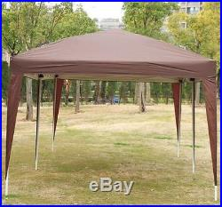New 10' X 20'outdoor Easy Pop up Canopy Gazebo Cover Wedding Party Tent BBQ