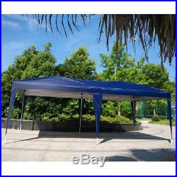 New 10'x 20'Canopy Gazebo Easy Pop Up Waterproof Tent Outdoor Wedding Party Tent