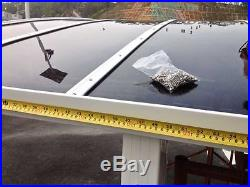 Nice and durable beautiful aluminum carport outdoor canopy/car shelter/awning