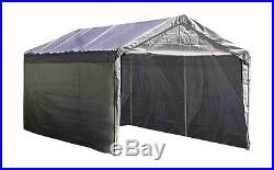 Outdoor Canopy Enclosure Kit 12 x 20 Car Port Shelter Cover Tent Portable Garage