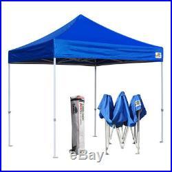 Outdoor Ez Pop Up 10x10 Canopy Party Folding Fair Trade Show Gazebo Tent Shelter