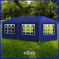 Outdoor Gazebo Canopy 10'x20' Party Tent heavy-duty Event Tent Patio Tan