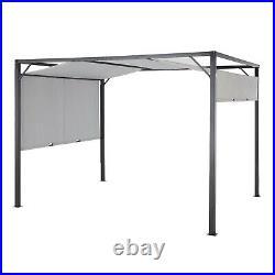 Outdoor Patio Gazebo Pergola Tent Garden Awning Adjustable Canopy Top