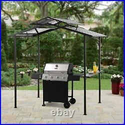 Outdoor Patio Grill Gazebo Tent Garden Awning Canopy Pergola 5' x 8' Hardtop