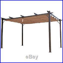 Outsunny 10' x 13' Outdoor Pergola Gazebo Canopy Cover Backyard Sunshade