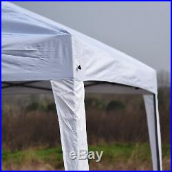 Outsunny 10 x 20 Outdoor Gazebo Pop Up Canopy Wedding Party Tent with 2-Tier