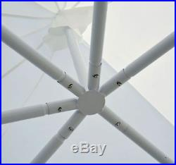 Outsunny 29'x21' Heavy Duty Decagonal Gazebo Canopy Wedding Party Tent Windows